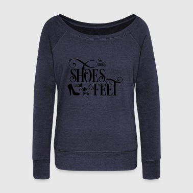 shoes - Women's Wideneck Sweatshirt