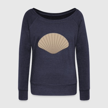 scallop - Women's Wideneck Sweatshirt