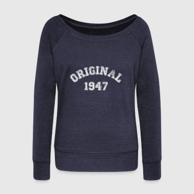 1947 1947 - Women's Wideneck Sweatshirt
