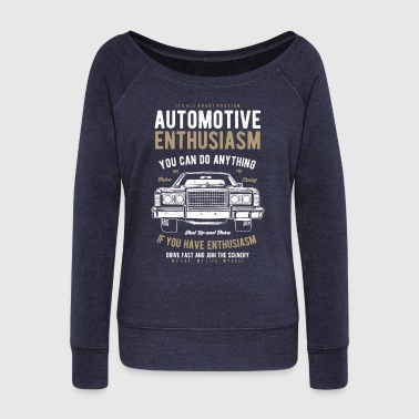 Painter Automotive Enthusiasm - Women's Wideneck Sweatshirt