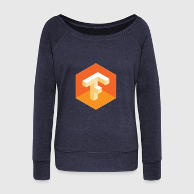 tensor flow - Women's Wideneck Sweatshirt