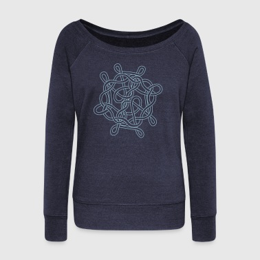 Nautical knot - Women's Wideneck Sweatshirt