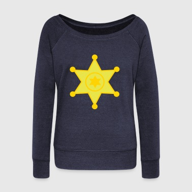 sheriff - Women's Wideneck Sweatshirt