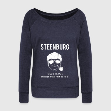 Thomas Steenburg Sasquatch Researcher Bigfoot Yeti - Women's Wideneck Sweatshirt