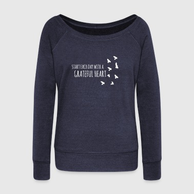 Anything inspire - inspiration - Women's Wideneck Sweatshirt