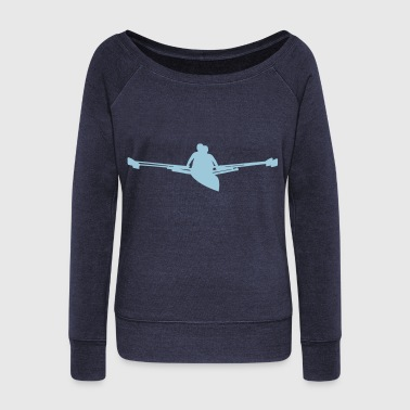 Rowing - Women's Wideneck Sweatshirt