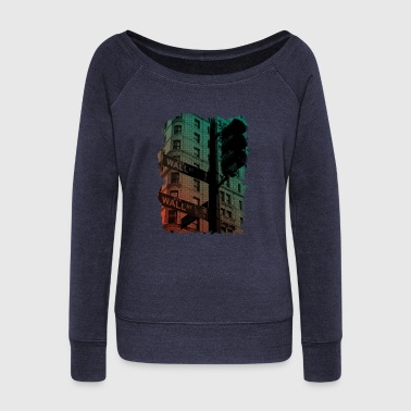 Wallstreet - Women's Wideneck Sweatshirt