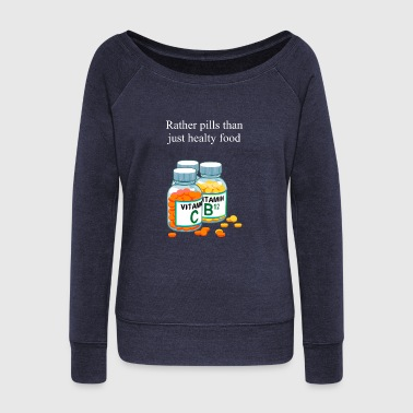 Vitamin Vitamins - Women's Wideneck Sweatshirt