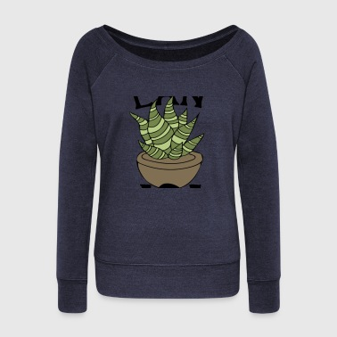 Plant Grounds Plant Mom - Women's Wideneck Sweatshirt