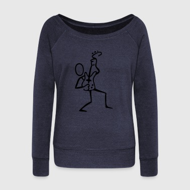 Guitar Player - Women's Wideneck Sweatshirt