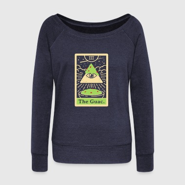 THE GUAC TAROT - Women's Wideneck Sweatshirt