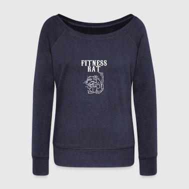 Signs of the zodiac rat - Women's Wideneck Sweatshirt
