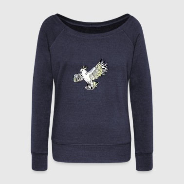 Cockatoo - Women's Wideneck Sweatshirt