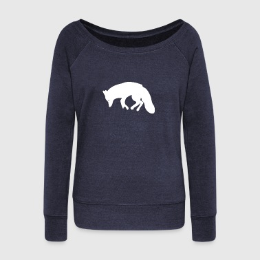 Tanner Fox Fox - Women's Wideneck Sweatshirt