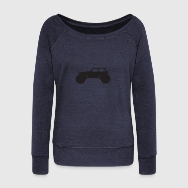 monster truck - Women's Wideneck Sweatshirt