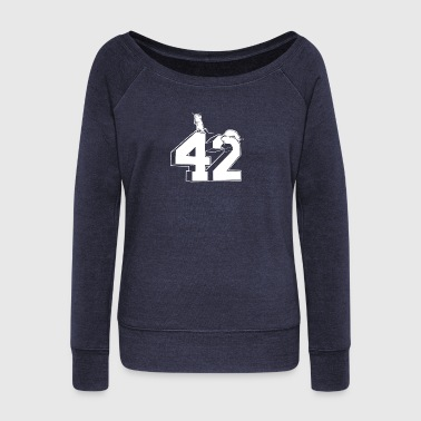Forty Forty Two - Women's Wideneck Sweatshirt