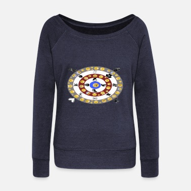 smiley - Women's Wideneck Sweatshirt