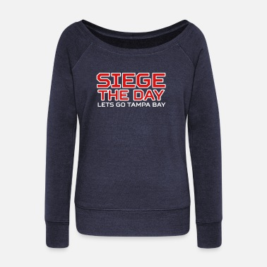 Sieg SIEGE THE DAY - Women's Wideneck Sweatshirt