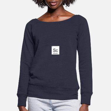 Sarcasm Sarcasm - Women's Wide-Neck Sweatshirt
