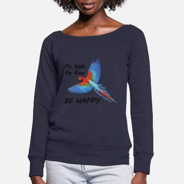 Flight Flight - Women's Wide-Neck Sweatshirt