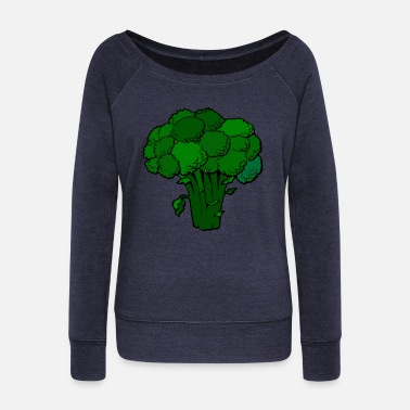 Broccoli broccoli - Women's Wideneck Sweatshirt