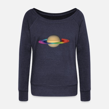 Saturn saturn - Women's Wideneck Sweatshirt