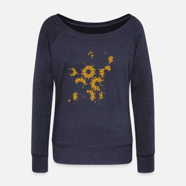 Abstract abstraction - Women's Wideneck Sweatshirt