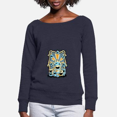 Circus circus - Women's Wide-Neck Sweatshirt