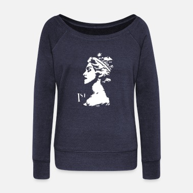 Madonna MADONNA - Women's Wide-Neck Sweatshirt
