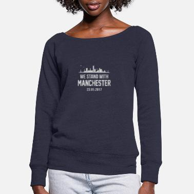 Stand Stand - Women's Wide-Neck Sweatshirt