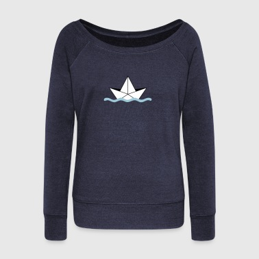 sailing - Women's Wideneck Sweatshirt