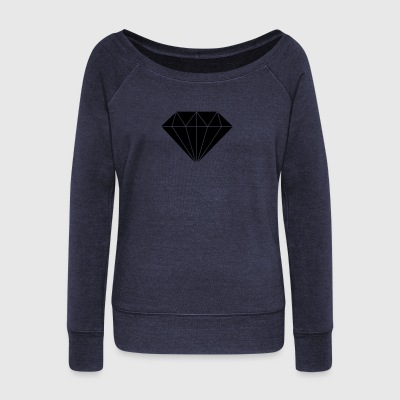 Diamond - Women's Wideneck Sweatshirt