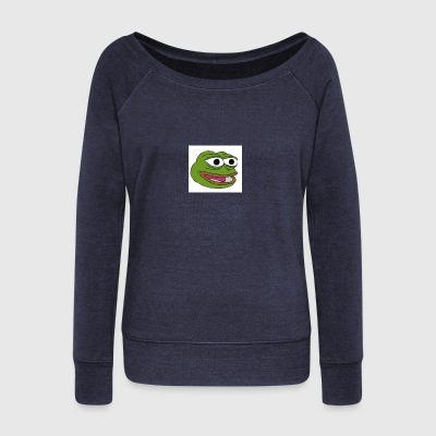Happy Pepe - Women's Wideneck Sweatshirt