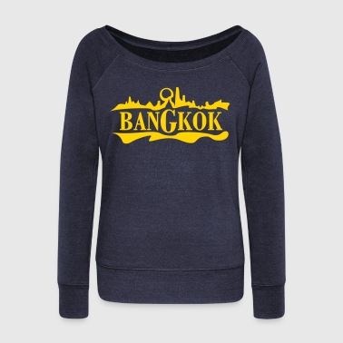Bangkok - Women's Wideneck Sweatshirt