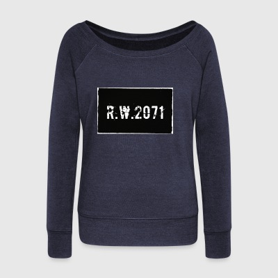 RW 2071 - Women's Wideneck Sweatshirt