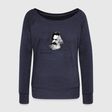 The Time of Marx - Women's Wideneck Sweatshirt