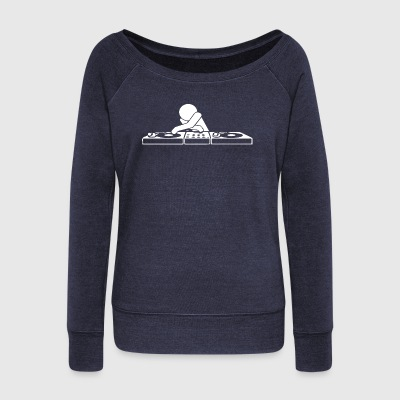 DJ Booth - Women's Wideneck Sweatshirt