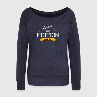 Special Seriously Limited Edition Since 1951 Gift - Women's Wideneck Sweatshirt