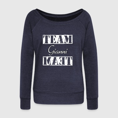 Team Gianni - Women's Wideneck Sweatshirt