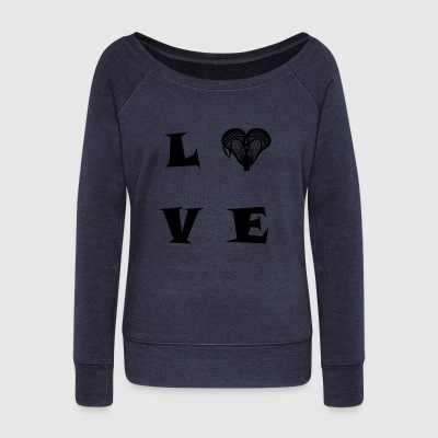 LOVE29 - Women's Wideneck Sweatshirt