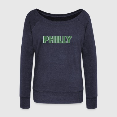 Philly - Women's Wideneck Sweatshirt