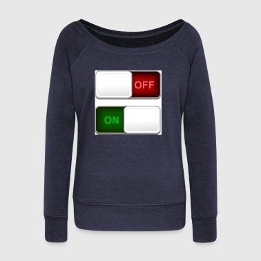 switch - Women's Wideneck Sweatshirt