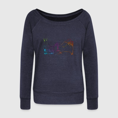 Light scene - Women's Wideneck Sweatshirt