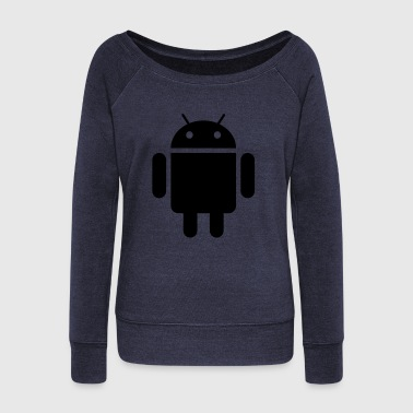 android - Women's Wideneck Sweatshirt