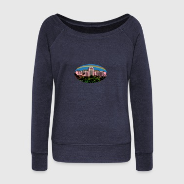 Tripler Cartoon Oval - Women's Wideneck Sweatshirt