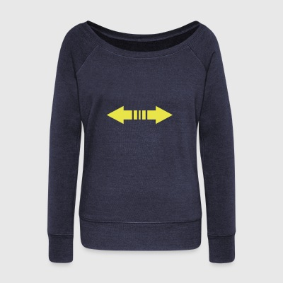 arrow - Women's Wideneck Sweatshirt