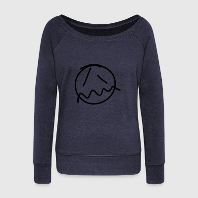 Eh (vector) - Women's Wideneck Sweatshirt