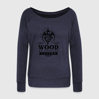 WOOD - Women's Wideneck Sweatshirt