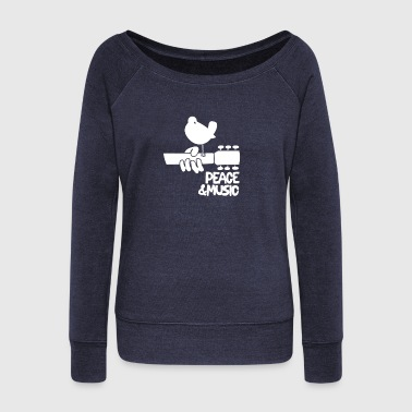 Woodstock Music - Women's Wideneck Sweatshirt