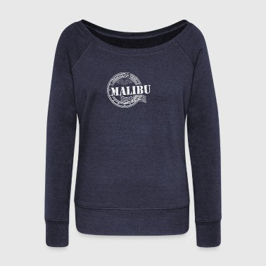 Stamp Malibu - Women's Wideneck Sweatshirt